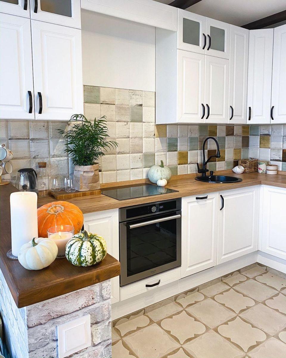 Белая кухня 5