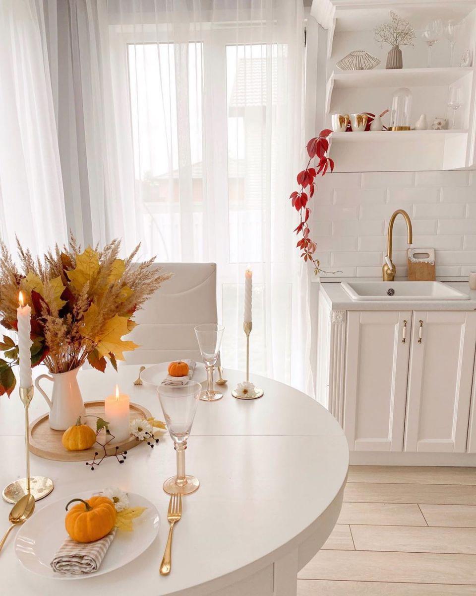 Белая кухня 1