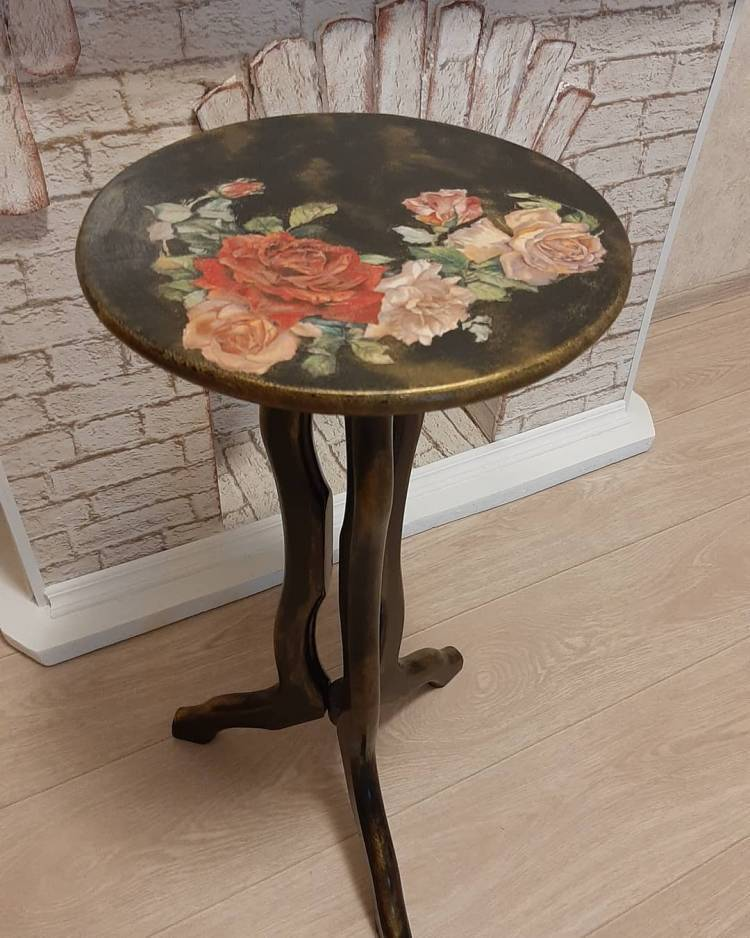 Декупаж мебели. Прелестное декорирование старой мебели, изюминка в ваш интерьер 2