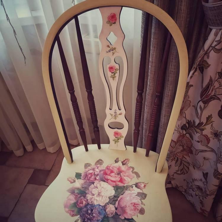 Декупаж мебели. Прелестное декорирование старой мебели, изюминка в ваш интерьер 4