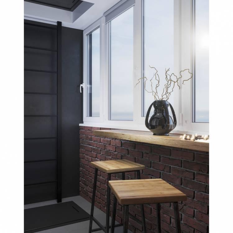 Дизайн балкона. Как создать уютное местечко для утреннего кофе, а также вечернего чая 3
