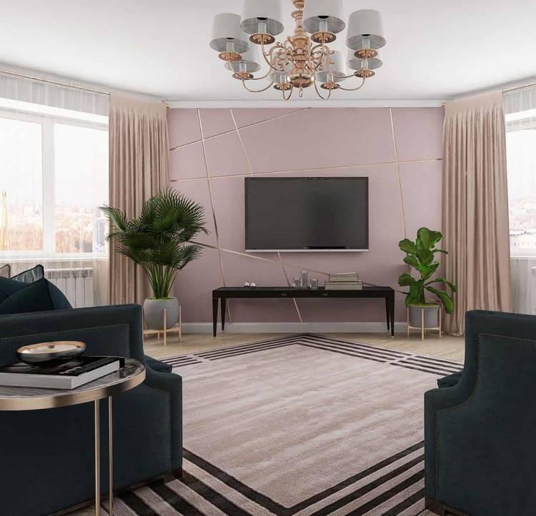 Дизайн зала. Просторное и лаконичное оформление интерьера по последним тенденциям 1