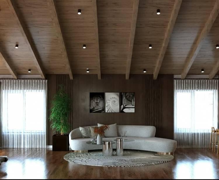Дизайн зала. Просторное и лаконичное оформление интерьера по последним тенденциям 4
