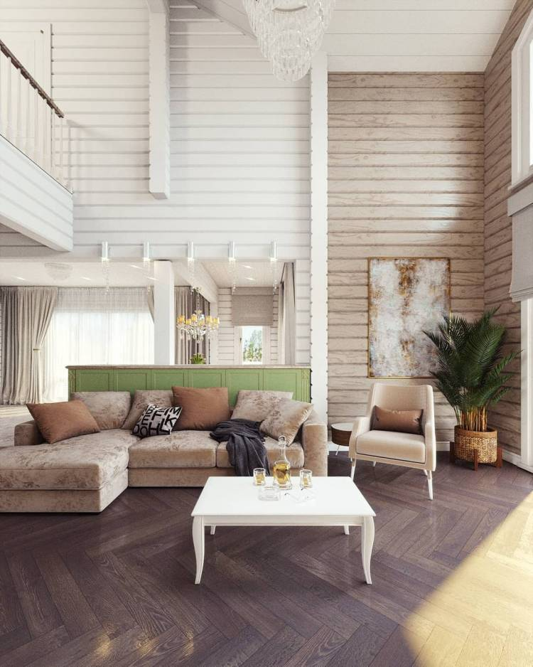 Дизайн зала. Просторное и лаконичное оформление интерьера по последним тенденциям 5