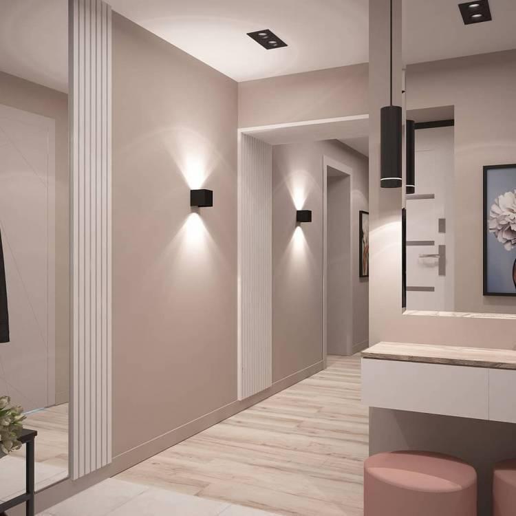 Дизайн коридора. Простые, но важные моменты, которых следует придерживаться 1