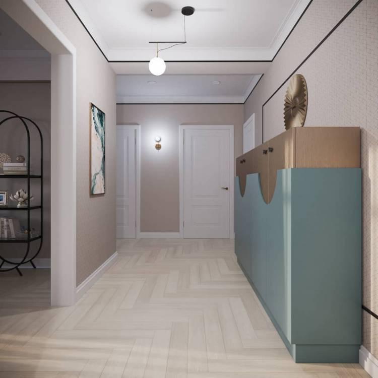Дизайн коридора. Простые, но важные моменты, которых следует придерживаться 5