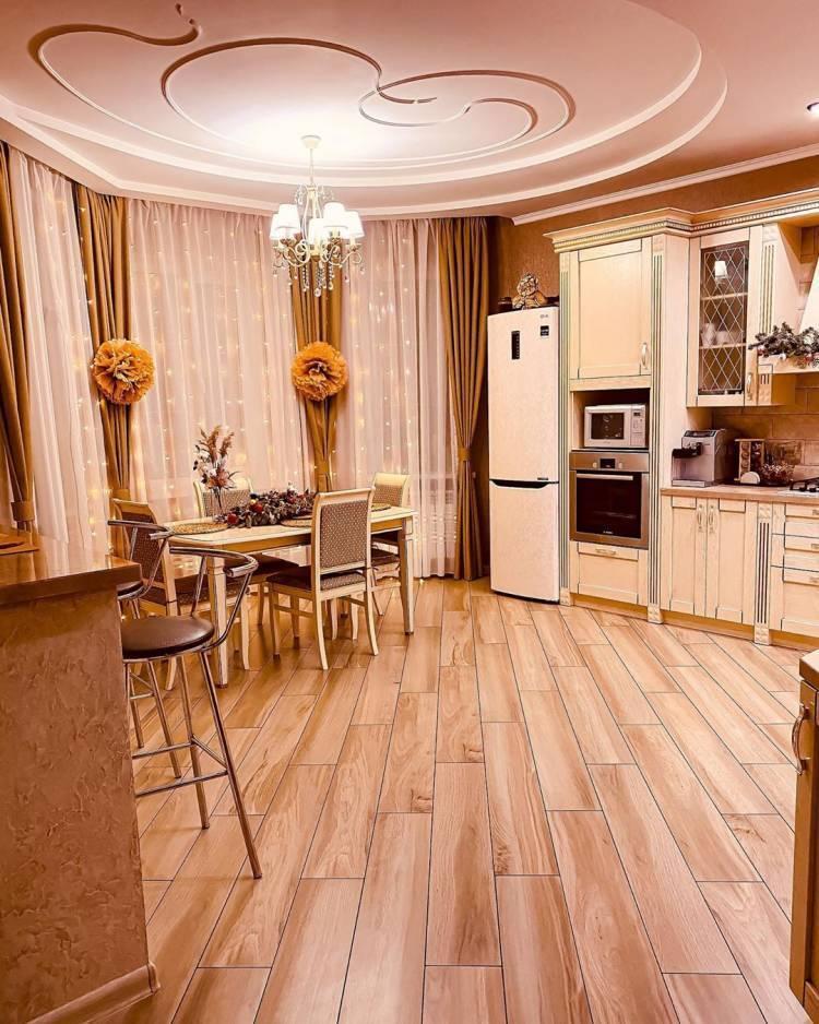 Дизайн кухни в частном доме. Основные стилистические направления и современные тенденции 1