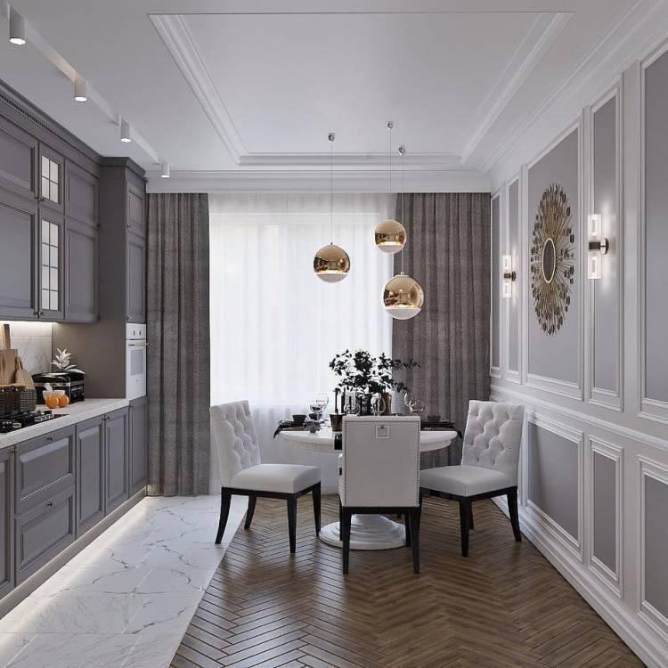 Дизайн кухни в частном доме. Основные стилистические направления и современные тенденции 6