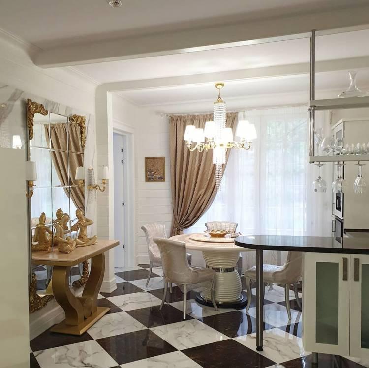 Дизайн кухни в частном доме. Основные стилистические направления и современные тенденции 4