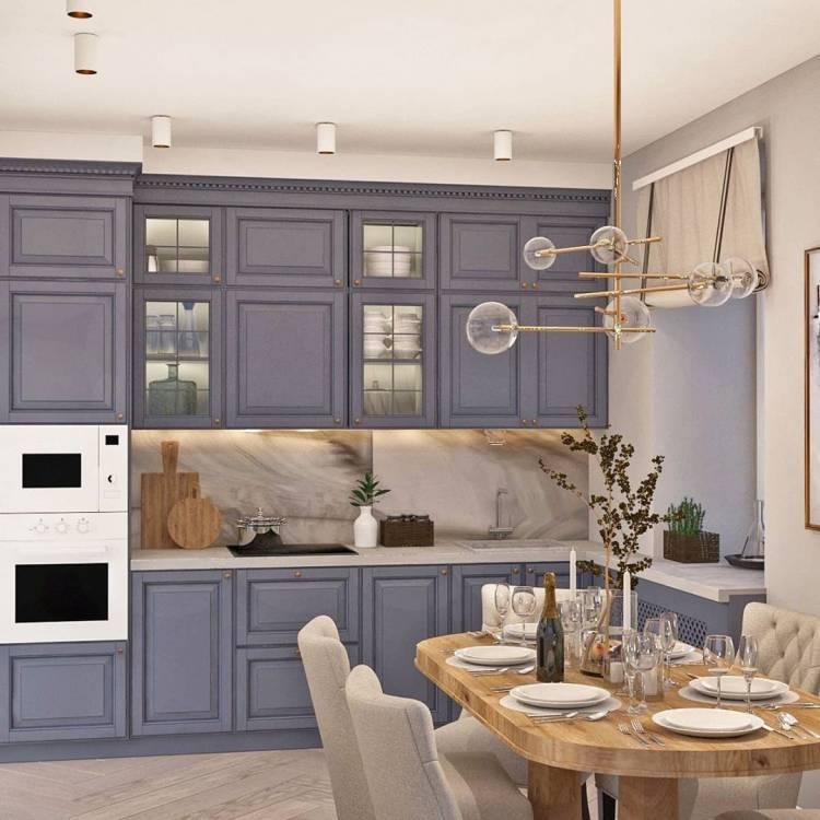 Дизайн кухни в частном доме. Основные стилистические направления и современные тенденции 5