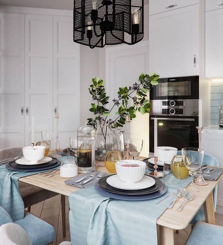 Дизайн кухни студии. Оптимальная планировка и повышение функциональности для всей семьи 3