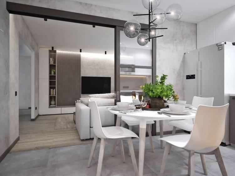 Дизайн кухни студии. Оптимальная планировка и повышение функциональности для всей семьи 5