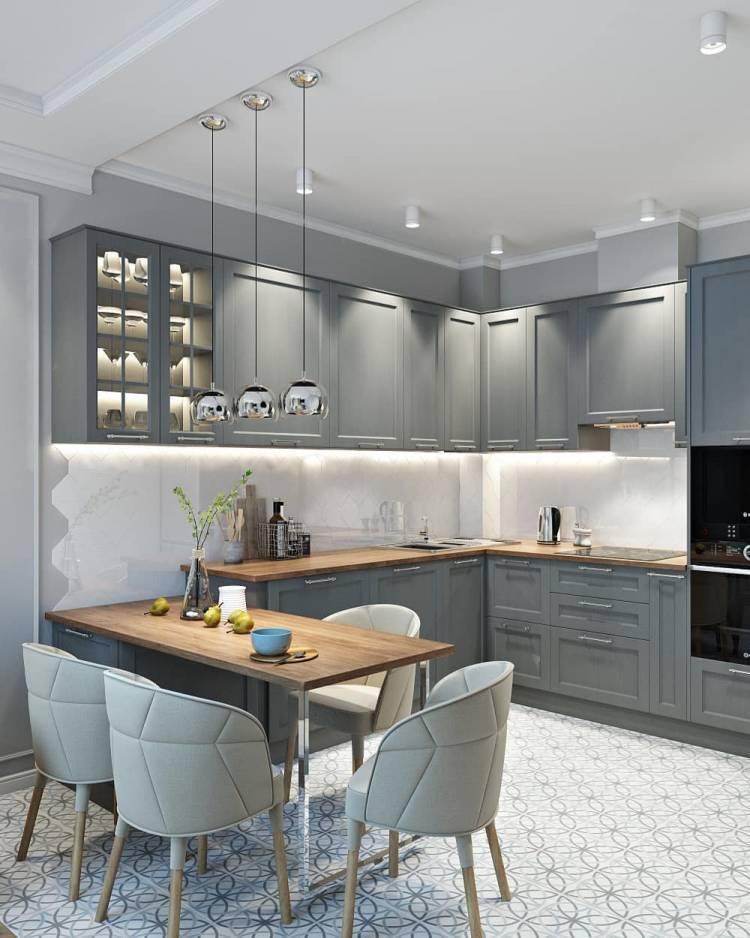 Дизайн кухни студии. Оптимальная планировка и повышение функциональности для всей семьи 1