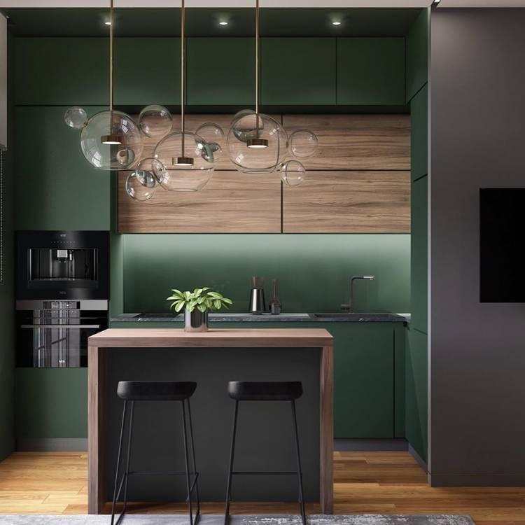 Дизайн кухни студии. Оптимальная планировка и повышение функциональности для всей семьи 6