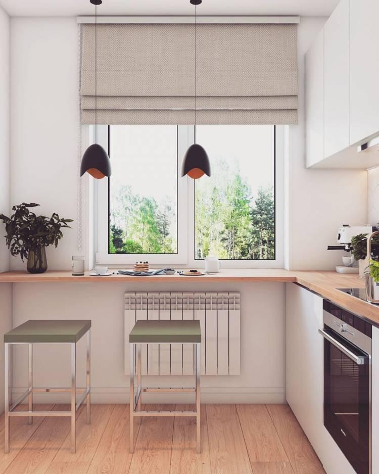 Дизайн маленькой кухни. Как разметить необходимый набор кухонной техники на небольшой площади 6
