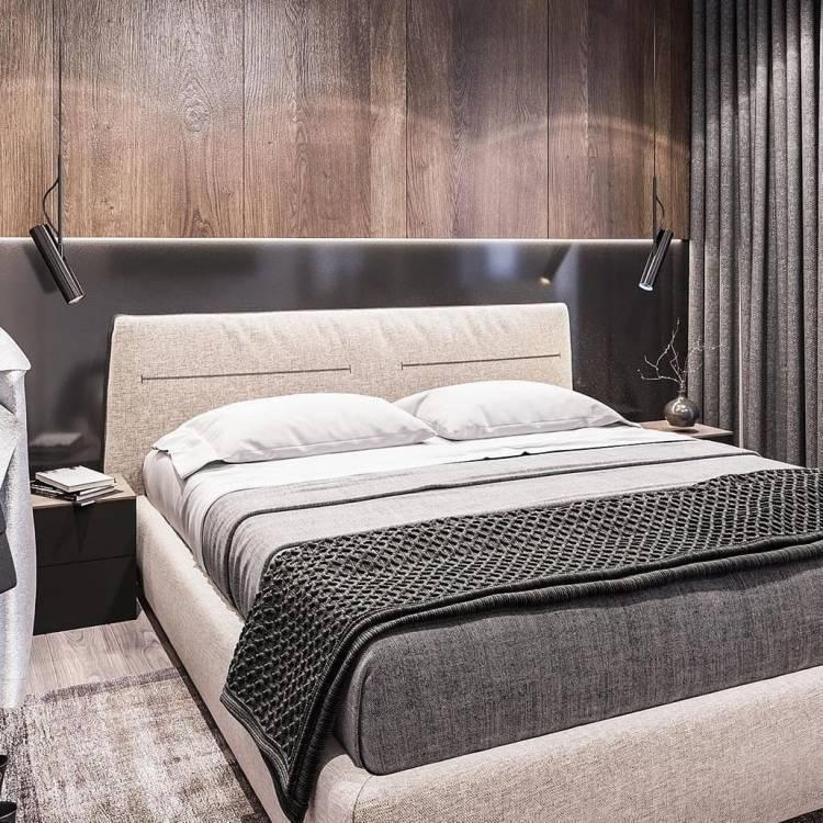 Дизайн спальни. Комфортный отдых, расслабление и восстановление сил  2