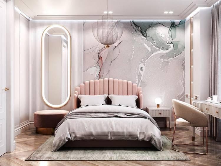Дизайн спальни. Комфортный отдых, расслабление и восстановление сил  1