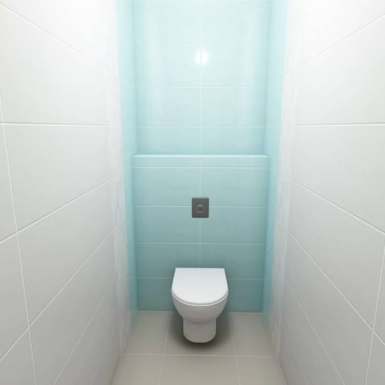 Дизайн туалета. Какие учесть основные моменты, сохранив базовый уровень комфорта в небольшом помещении 3