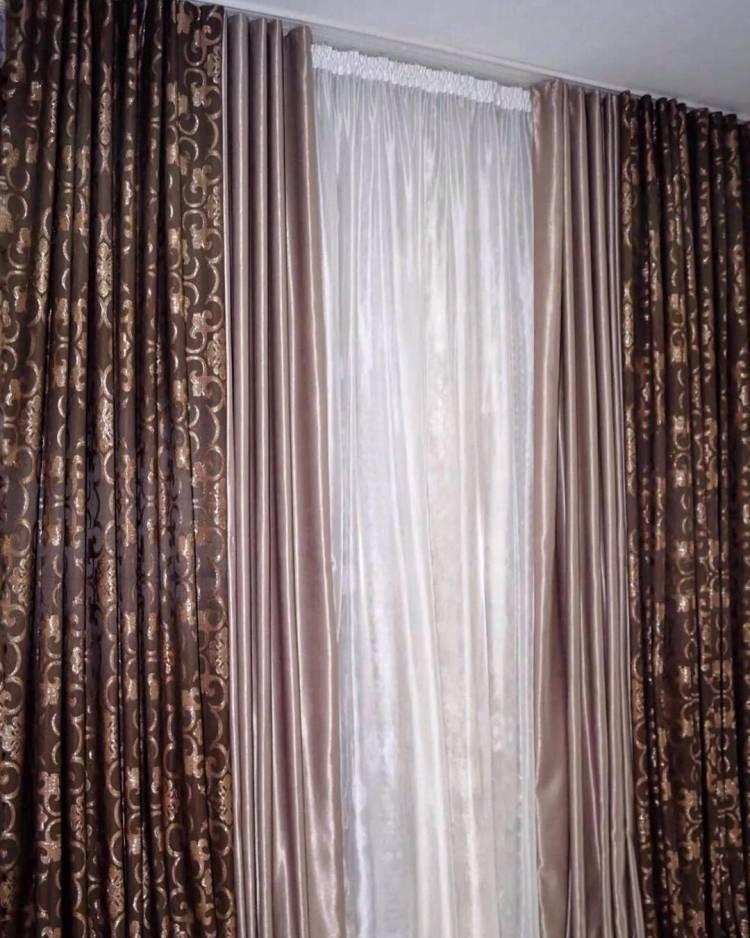 Дизайн штор. Комбинации, материал, цветовые оттенки - как выбрать 3