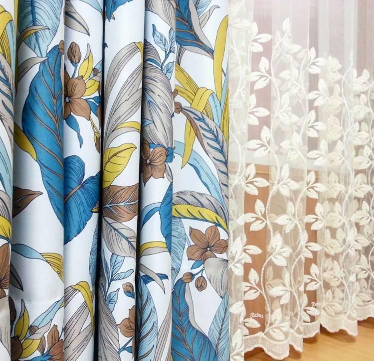 Дизайн штор. Комбинации, материал, цветовые оттенки - как выбрать 2