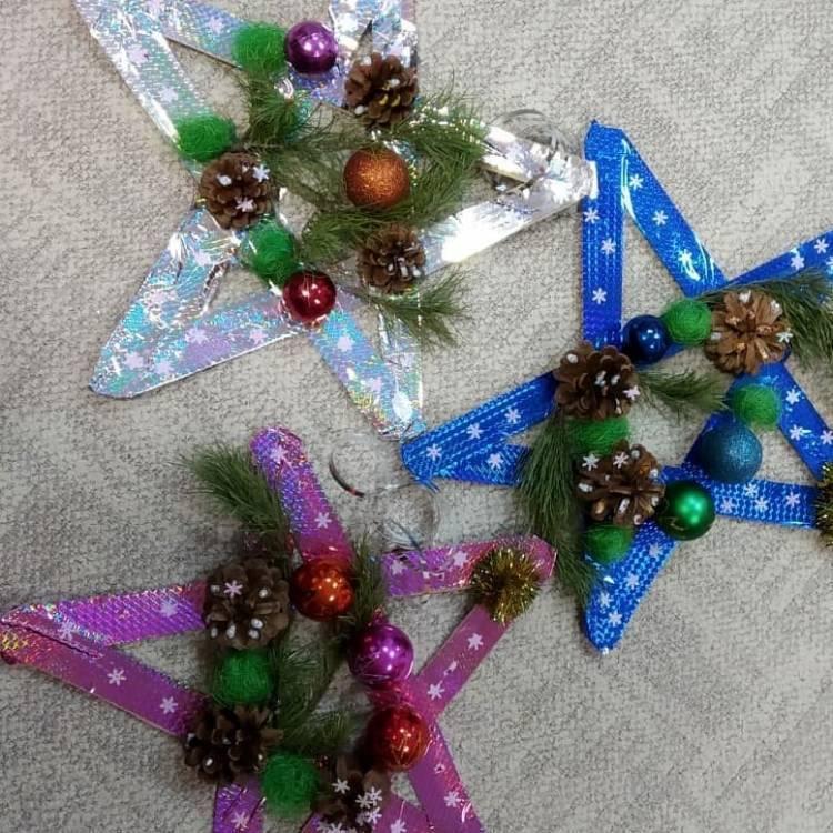 Поделки на Новый Год в школу. Как выполнить с ребенком несложные поделки в новогодней тематике 3