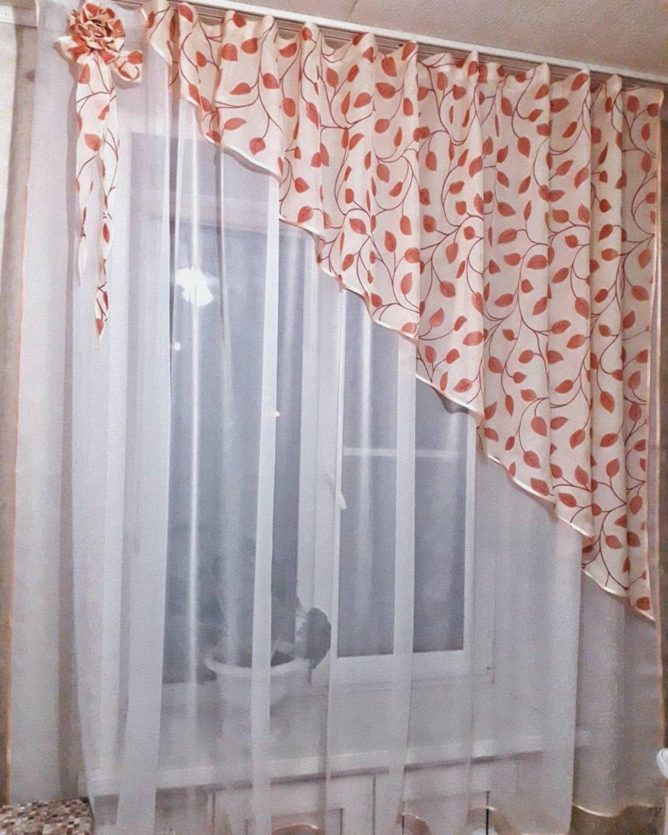 Как сшить шторы 4