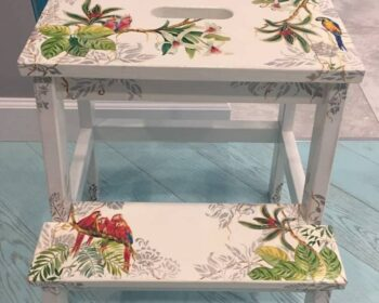 Декупаж мебели. Прелестное декорирование старой мебели, изюминка в ваш интерьер. превью