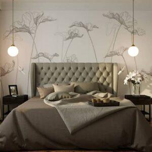 Дизайн спальні.  Комфортний відпочинок, розслаблення і відновлення сил